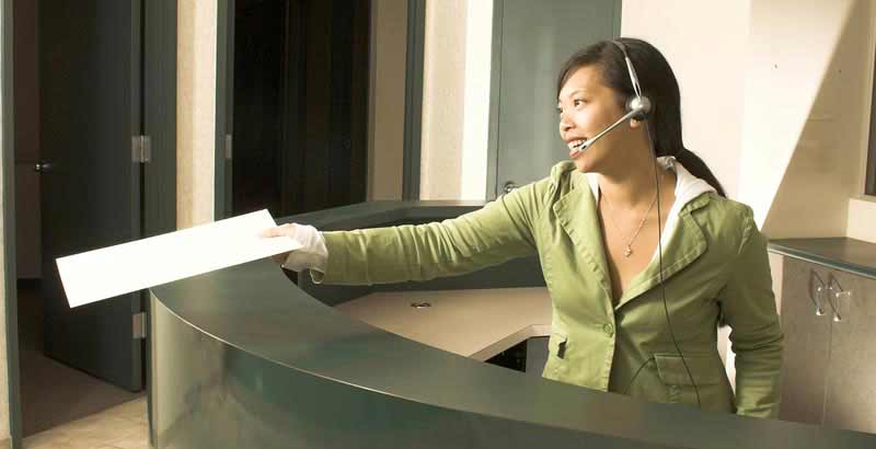 Receptionist Skills Course UK